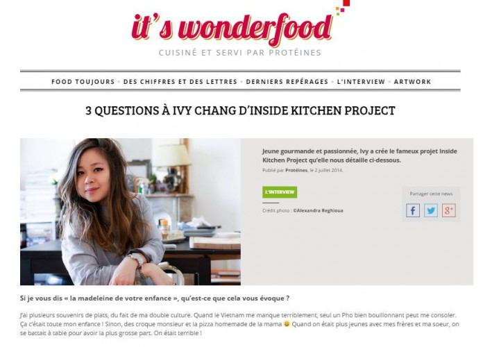 interview inside kitchen project it's wonderfood